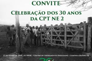 Em Campina Grande, comunidades camponesas celebram os 30 anos da CPT NE 2