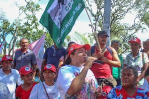 Maceió/AL: Camponesas, marisqueiras e sem teto se unem em manifestação relativa ao Dia Internacional da Mulher